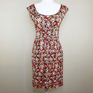 Diane von Furstenberg Taran 100% Silk Dress EUC